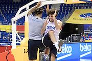 DESCRIZIONE: Berlino EuroBasket 2015 - Allenamento<br /> GIOCATORE:Amedeo Della Valle Daniel Hackett<br /> CATEGORIA: Allenamento<br /> SQUADRA: Italia Italy<br /> EVENTO:  EuroBasket 2015 <br /> GARA: Berlino EuroBasket 2015 - Allenamento<br /> DATA: 08-09-2015<br /> SPORT: Pallacanestro<br /> AUTORE: Agenzia Ciamillo-Castoria/I.Mancini<br /> GALLERIA: FIP Nazionali 2015<br /> FOTONOTIZIA: Berlino EuroBasket 2015 - Allenamento