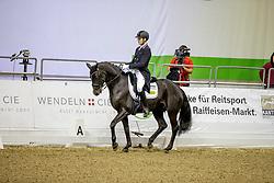 BROKAMP Niklas (GER), Diomio<br /> Oldenburg - AGRAVIS Cup 2019<br /> DERBY Spezialfutter präsentiert: <br /> DERBY Dressage Cup<br /> Nat. Dressurprüfung Kl. S*** U25<br /> 03. November 2019<br /> © www.sportfotos-lafrentz.de/Stefan Lafrentz