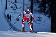 LAHTIS, FINLAND - 5 MARS: Anders Gloersen under herrarnas 50 km mass start under FIS Nordic World Ski Championships den 5 mars , 2017 i Lahti, Finland. <br /> Foto: Nils Petter Nilsson/Ombrello<br /> ***BETALBILD***