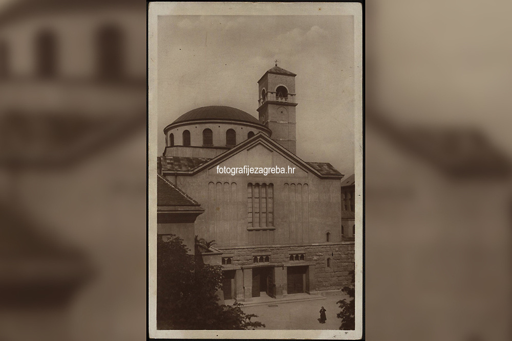 Zagreb : Crkva Sv. Blaža. <br /> <br /> ImpresumZagreb : Naklada: Orient, [193-].<br /> Materijalni opis1 razglednica : tisak ; 9 x 14 cm.<br /> NakladnikNaklada Orient<br /> Mjesto izdavanjaZagreb<br /> Vrstavizualna građa • razglednice<br /> ZbirkaGrafička zbirka NSK • Zbirka razglednica<br /> Formatimage/jpeg<br /> PredmetZagreb –– Prilaz Gjure Deželića<br /> Crkva sv. Blaža (Zagreb)<br /> SignaturaRZG-DEZ-2<br /> Obuhvat(vremenski)20. stoljeće<br /> NapomenaRazglednica nije putovala.<br /> PravaJavno dobro<br /> Identifikatori000954672<br /> NBN.HRNBN: urn:nbn:hr:238:511248 <br /> <br /> Izvor: Digitalne zbirke Nacionalne i sveučilišne knjižnice u Zagrebu