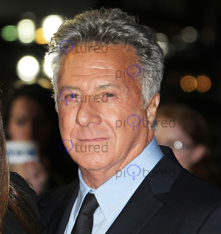 LONDON - OCTOBER 15: Dustin Hoffman attended the screening of 'Quartet' at the Odeon, Leicester Square, London, UK. October 15, 2012. (Photo by Richard Goldschmidt)