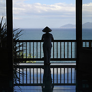 Looking out from the Evason Hideaway in Nha Trang, Vietnam.