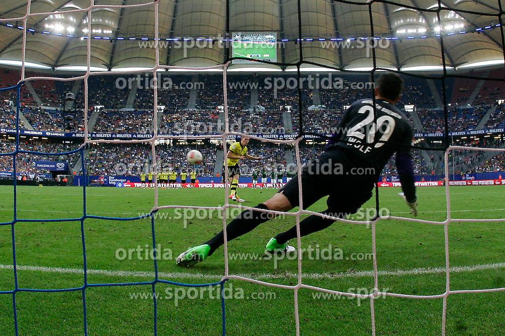 Football - soccer: LIGA total! Cup 2012, Borussia Dortmund - SV Werder Bremen,  .Raphael Wolf (SV Werder Bremen, #20) *** Local Caption *** © pixathlon