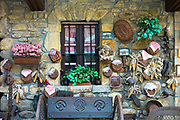 Traditional old Basque homestead in the Biskaia Basque region of Northern Spain