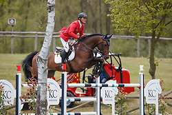 Tebbel Maurice, GER, Chacco's Son<br /> FEI Nations Cup of Belgium<br /> CSIO Lummen 2017<br /> © Hippo Foto - Dirk Caremans<br /> 28/04/2017