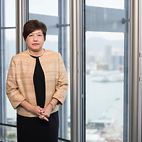 Siew Meng Tan, Regional Head, Global Private Banking, Asia Pacific at HSBC, poses for a photograph at the HSBC Main Building on 25 August 2017, in Hong Kong, China. Photo by Victor Fraile / studioEAST