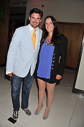 EDWARD TAYLOR and LEONORA DE FERRANTI at the Veuve Clicquot Mint Polo in The Park after party held at The Hurlingham Club, Ranelagh Gardens, London SW6 on 5th June 2011.