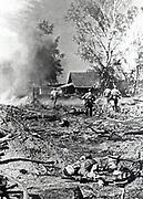 USSR, 1942.  Fighting in the city of Karmanov (Smolensk region).B150