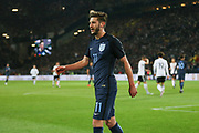 Adam Lallana of England during the International Friendly match between Germany and England at Signal Iduna Park, Dortmund, Germany on 22 March 2017. Photo by Phil Duncan.