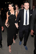 07.MARCH.2011. LONDON<br /> <br /> SARAH HARDING WITH TOM CRANE LEAVING THEIR KENSINGTON HOTEL ON ROUTE TO THE BROMPTON CLUB IN KNIGHTSBRIDGE FOR THEIR ENGAGEMENT PARTY.<br /> <br /> BYLINE: EDBIMAGEARCHIVE.COM<br /> <br /> *THIS IMAGE IS STRICTLY FOR UK NEWSPAPERS AND MAGAZINES ONLY*<br /> *FOR WORLD WIDE SALES AND WEB USE PLEASE CONTACT EDBIMAGEARCHIVE - 0208 954 5968*