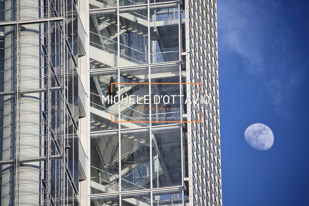Intesa Sanpaolo Office Building Torino 2015, Italy<br /> <br /> Il grattacielo di Intesa Sanpaolo di Torino, firmato da Renzo Piano, 166 metri di altezza su 7mila mq di superficie, ospita il nuovo centro direzionale del gruppo bancario.