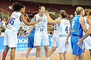 DESCRIZIONE : Riga Latvia Lettonia Eurobasket Women 2009 final 5th-6th Place Italia Grecia Italy Greece<br /> GIOCATORE : Marte Alexander Laura Macchi Mariangela Cirone<br /> SQUADRA : Italia Italy<br /> EVENTO : Eurobasket Women 2009 Campionati Europei Donne 2009 <br /> GARA : Italia Grecia Italy Greece<br /> DATA : 20/06/2009 <br /> CATEGORIA : esultanza<br /> SPORT : Pallacanestro <br /> AUTORE : Agenzia Ciamillo-Castoria/M.Marchi<br /> Galleria : Eurobasket Women 2009 <br /> Fotonotizia : Riga Latvia Lettonia Eurobasket Women 2009 final 5th-6th Place Italia Grecia Italy Greece<br /> Predefinita :