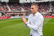 ALKMAAR - 28-08-2016, AZ - NEC, AFAS Stadion, 2-0, Vincent Janssen neemt afscheid.