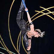 15.01.2016 Cirque Du Soleil performing AMALUNA at The Royal Albert Hall London UK