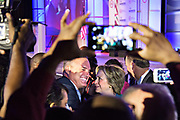 Hillary Clinton and four other Presidential candidates spoke at the National Urban League conference at the Broward County Convention Center in Fort Lauderdale, Fla., July 31, 2015. Clinton stops to shake hands and pose for photos as she works the rope line after her speech.