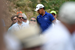 June 25, 2017 - Cromwell, Connecticut, U.S - Fabian Gomez during the final round of the Travelers Championship at TPC River Highlands in Cromwell, Connecticut. (Credit Image: © Brian Ciancio via ZUMA Wire)