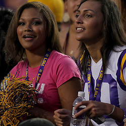 19 September 2009: LSU Tigers fans in the stands during a 31-3 win by the LSU Tigers over the University of Louisiana-Lafayette Ragin Cajuns at Tiger Stadium in Baton Rouge, Louisiana.