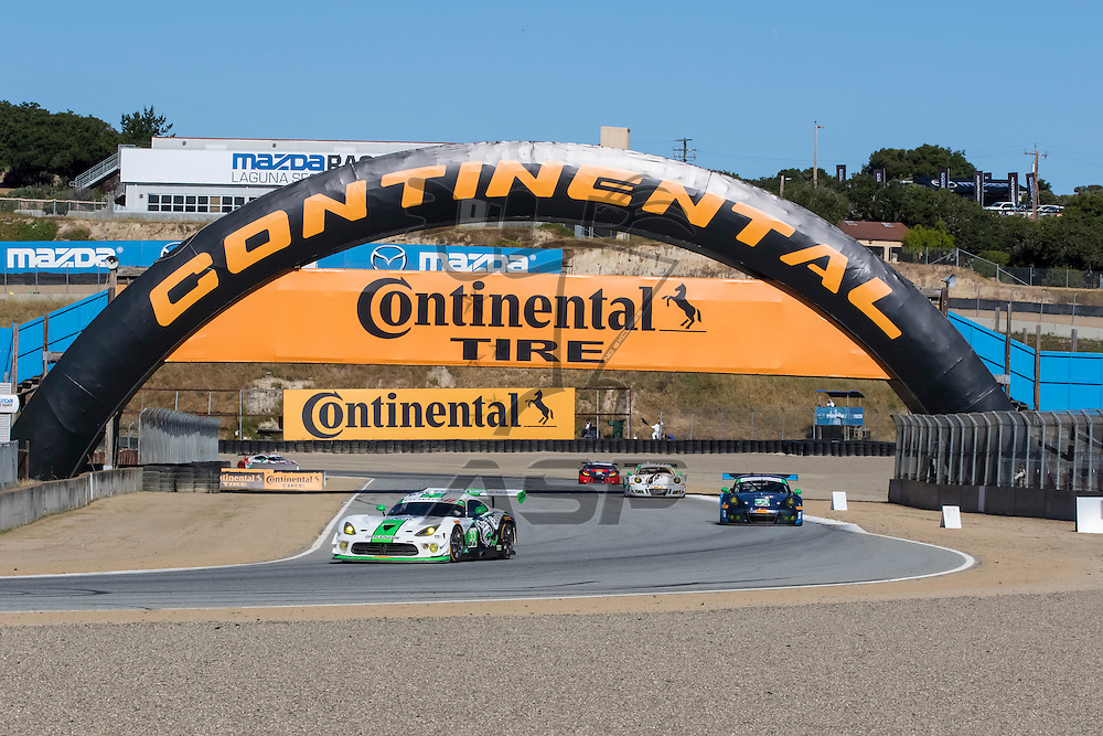Salinas, CA - Apr 30, 2016:  The IMSA WeatherTech Sportscar Championship teams take to the track for a practice session for the Monterey Grand Prix Presented by Mazda at Mazda Raceway in Salinas, CA.