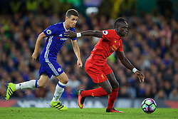 LONDON, ENGLAND - Friday, September 16, 2016: Liverpool's Sadio Mane in action against Chelsea during the FA Premier League match at Stamford Bridge. (Pic by David Rawcliffe/Propaganda)