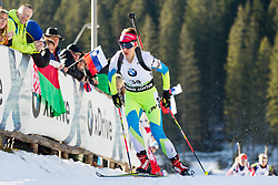 GREGORIN Teja (SLO) competes during Women 10 km Pursuit at day 3 of IBU Biathlon World Cup 2014/2015 Pokljuka, on December 20, 2014 in Rudno polje, Pokljuka, Slovenia. Photo by Vid Ponikvar / Sportida