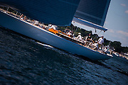 Heroina sailing in the Corinthian Classic Yacht Regatta.