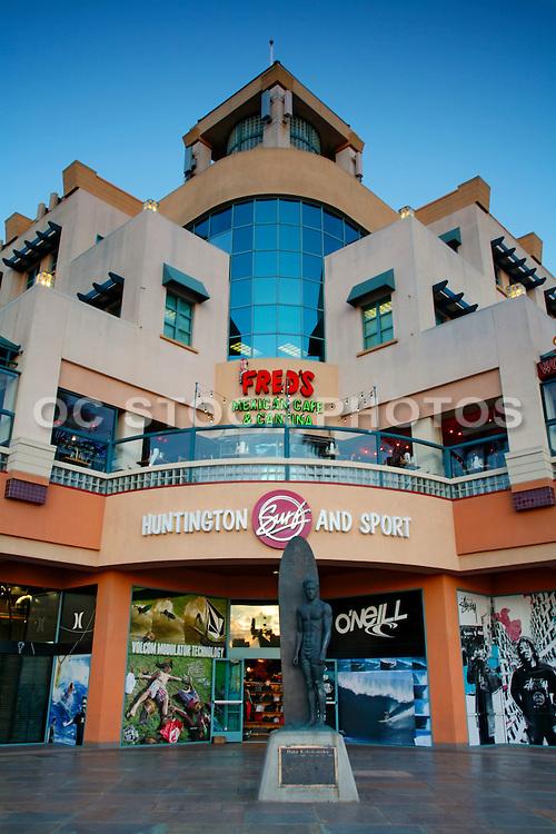 Downtown Huntington Beach Shops at Main and PCH