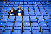 Fans arrive early before the Sky Bet Championship match between Reading and Derby County at the Madejski Stadium, Reading, England on 15 September 2015. Photo by Adam Rivers.