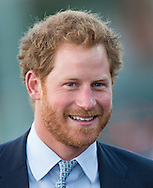 Prince Harry visits Paignton Rugby Club in Paignton