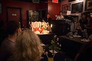 CAFÉ CONCRET #19, Casa del Popolo, Dimanche 19 octobre 2014. Petit Banquet Concret.