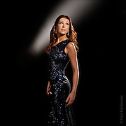 Promotional shoot for up and coming opera star Ellen Williams. This image was used as her CD cover