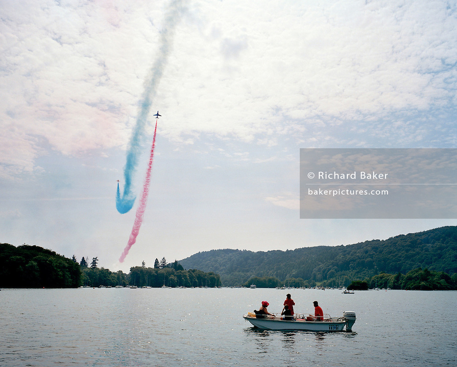 Red Arrows, Lake Windermere 2004.