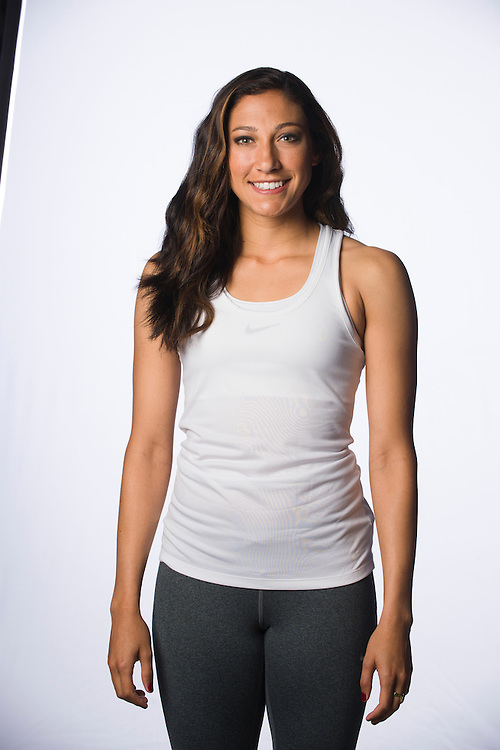 Christen Press on February 1, 2016.