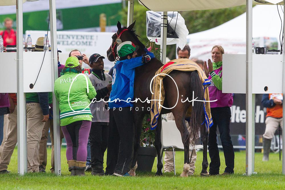 HE Sheikh Hamdan Bin Mohd Al Maktoum, (UAE), Yamamah<br /> Alltech FEI World Equestrian Games™ 2014 - Normandy, France.<br /> © Hippo Foto Team - Leanjo de Koster<br /> 25/06/14