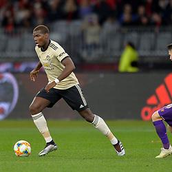 Paul Pogba of Man United attacks