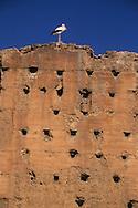 Morocco, Marrakesh ; The baidi palace in the old medina.