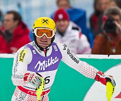 19.02.2011, Gudiberg, Garmisch Partenkirchen, GER, FIS Alpin Ski WM 2011, GAP, Herren, Slalom, im Bild Ivica Kostelic (CRO) // Ivica Kostelic (CRO) during Men's Slalom Fis Alpine Ski World Championships in Garmisch Partenkirchen, Germany on 20/2/2011. EXPA Pictures © 2011, PhotoCredit: EXPA/ J. Groder