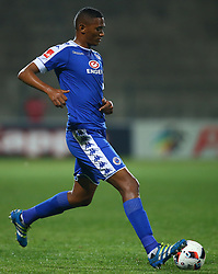 Mario Booysen of SuperSport United during the 2016 Premier Soccer League match between Supersport United and The Free Stat Stars held at the King Zwelithini Stadium in Durban, South Africa on the 24th September 2016<br /> <br /> Photo by:   Steve Haag / Real Time Images