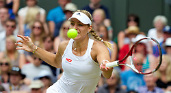 LONDON, ENGLAND - Tuesday, July 1, 2014: Angelique Kerber (GER) during the Ladies' Singles 4th Round match on day eight of the Wimbledon Lawn Tennis Championships at the All England Lawn Tennis and Croquet Club. (Pic by David Rawcliffe/Propaganda)