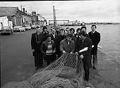 1978 - French Fishermen At Howth, Dublin.   (M27).