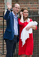 Kate Middleton & Prince William With 3rd Baby