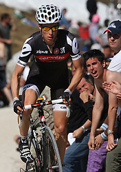 25/05/2010 Etape 16 - 93° GIRO D'ITALIA - Tour d'Italie - Contre la montre individuelle 12,9 km. San Vigilio Di Marebbe - Plan De Corones, Italy. .© Photo Pierre Teyssot / Sportida.com.WYSS Danilo (SUI).BMC during the time trial, 16th stage on 25/05/2010, 2010 in Plan de Corones, Kron Platz, Italy.