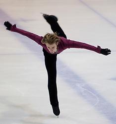 13.11.2010, Eishalle Liebenau, AUT, Icechallenge 2010, im Bild Douglas Razzano (USA) bei der Kür Herren, EXPA Pictures © 2010, PhotoCredit: EXPA/ Erwin Scheriau