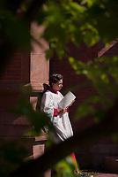 St Paul's School Graduation Day.  ©2018 Karen Bobotas Photographer