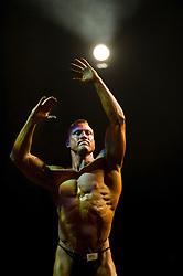 DK caption:<br /> Herning, Danmark, 20131005: <br /> DM i Bodybuilding i Herning Kongrescenter/MCH<br /> Foto: Lars M&oslash;ller<br /> UK Caption:<br /> Herning, Denmark, 20131005: <br /> Danish Championships in Bodybuilding in Herning Congrescenter/MCH<br /> Photo: Lars Moeller