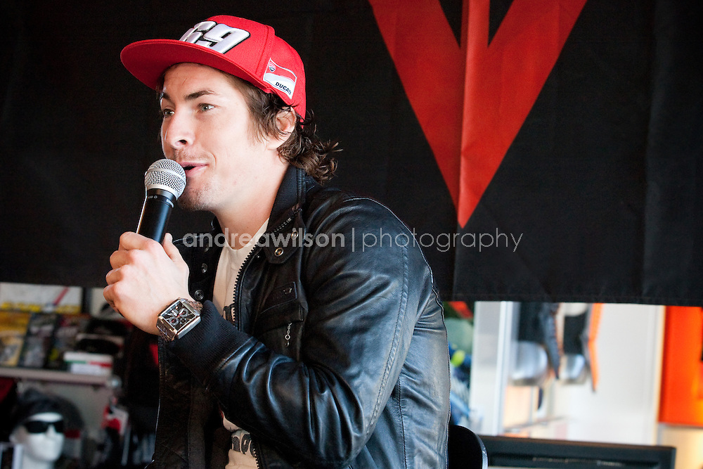 Nicky Hayden - DStore Costa Mesa - November 19 2011:: Contact me for download access if you do not have a subscription with andrea wilson photography. ::  ..:: For anything other than editorial usage, releases are the responsibility of the end user and documentation will be required prior to file delivery ::..