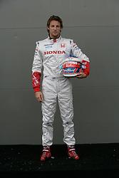 Melbourne. Australia - Thursday, March 15, 2007: Jenson Button (GBR, Honda Racing F1 Team) at the opening Grand Prix of the Formula One World Championship in Australia.(Pic by Michael Kunkel/Propaganda/Hoch Zwei)
