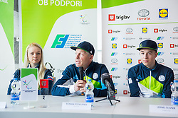 Roman Podlipnik during Press conference before departure on Paralympic Games in Pyeongchang, on February 28, 2018 in Triglav Zavarovalnica, Ljubljana, Slovenia. Photo by Ziga Zupan / Sportida