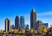 Downtown skyline, Atlanta, Georgia, USA