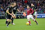 Northampton Town Striker Ricky Holmes finds a pass  during the Sky Bet League 2 match between Northampton Town and York City at Sixfields Stadium, Northampton, England on 6 February 2016. Photo by Dennis Goodwin.