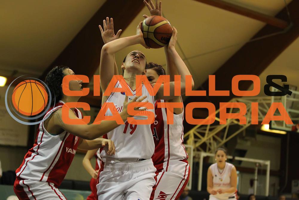 DESCRIZIONE : Roma Basket Campionato Italiano Femminile serie B<br /> 2011-2012<br /> GIOCATORE : Francesca Minali<br /> SQUADRA : College Italia<br /> EVENTO : College Italia 2011-2012<br /> GARA : College Italia Santa Marinella<br /> DATA : 04/12/2011<br /> CATEGORIA : tiro<br /> SPORT : Pallacanestro <br /> AUTORE : Agenzia Ciamillo-Castoria/ElioCastoria<br /> Galleria : Fip Nazionali 2011<br /> Fotonotizia : Roma Basket Campionato<br /> Italiano Femminile serie B 2011-2012<br /> Predefinita :
